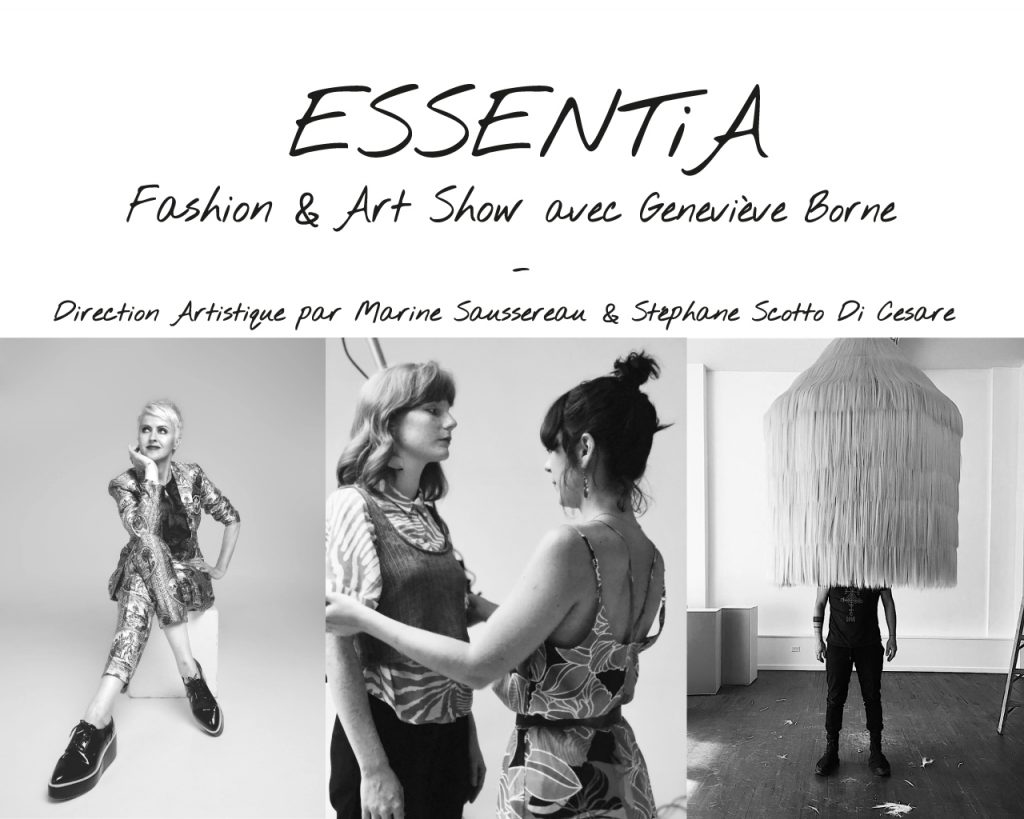 ESSENTIA – Fashion&Art show avec Geneviève Borne